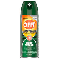 SC Johnson OFF!® 317189 6 oz. Deep Woods® Sportsmen Insect Repellent II   - 12/Case