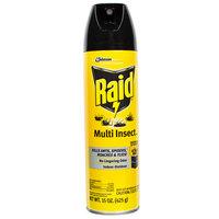 SC Johnson Raid® 638602 15 oz. Aerosol Multi Insect Bug Killer Spray - 12/Case