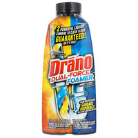 SC Johnson Drano® 14768 17 oz. Dual Force Foamer Drain Cleaner - 8/Case