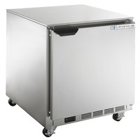 Beverage-Air UCF27AHC-23 27 inch Low Profile Undercounter Freezer