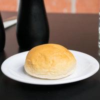 Carlisle 4350502 Dallas Ware 5 5/8 inch White Melamine Bread and Butter Plate - 48/Case