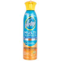 SC Johnson Pledge® 652989 9.7 oz. Multi-Surface Antibacterial Cleaner - 6/Case