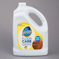 SC Johnson Pledge® 605896 1 Gallon / 128 oz. Hardwood Floor Care Cleaner   - 4/Case