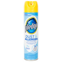 SC Johnson Pledge® 697835 9.7 oz. Dust and Allergen Aerosol Furniture Spray