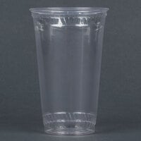 Fabri-Kal Greenware GC24 24 oz. Customizable Compostable Clear Plastic Cold Cup - 600/Case
