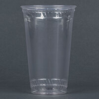 Fabri-Kal Greenware GC24 24 oz. Customizable Compostable Clear Plastic Cold Cup - 600 / Case