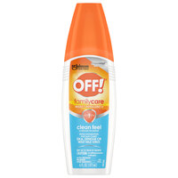 SC Johnson OFF!® 629380 6 oz. FamilyCare Clean Feel Insect Repellent II - 12/Case
