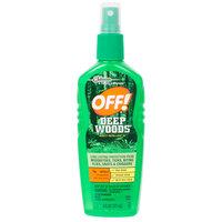 SC Johnson OFF!® 654455 Deep Woods® Sportsmen 6 oz. Insect Repellent VII - 12/Case