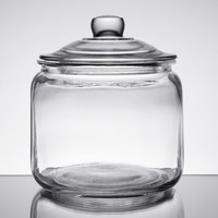 Choice 0.75 Gallon Glass Jar with Lid
