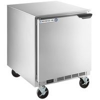 Beverage-Air UCR27AHC-24 27 inch Undercounter Refrigerator with Left Hinged Door