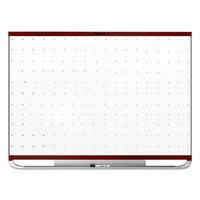Quartet TEM543M Prestige 2 24 inch x 36 inch Magnetic Total Erase Whiteboard with Mahogany Plastic Frame