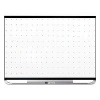 Quartet TEM544B Prestige 2 36 inch x 48 inch Magnetic Total Erase Whiteboard with Black Aluminum Frame