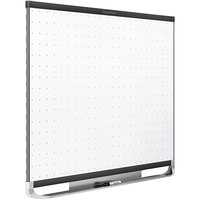 Quartet TEM544B Prestige 2 36 inch x 48 inch Magnetic Total Erase Whiteboard with Black Aluminum Frame