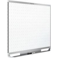 Quartet TEM547A Prestige 2 48 inch x 72 inch Magnetic Total Erase Whiteboard with Silver Aluminum Frame