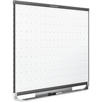 Quartet TEM544G Prestige 2 36 inch x 48 inch Magnetic Total Erase Whiteboard with Graphite Plastic Frame