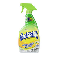 SC Johnson 696717 Fantastik® 32 oz. Heavy Duty Lemon Power All Purpose Cleaner - 8/Case