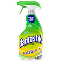 SC Johnson 306388 Fantastik® 32 oz. Heavy Duty Lemon Power All Purpose Cleaner - 8/Case