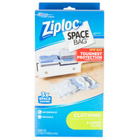 SC Johnson Ziploc® 690898 Space Bag® 21 1/2 inch x 33 1/2 inch Large Flat Compression Bag - 3/Box