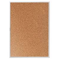 Quartet 2307 Classic 48 inch x 72 inch Cork Board with Silver Aluminum Frame
