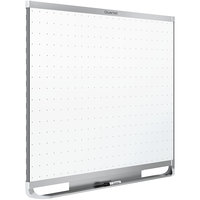 Quartet TEM548A Prestige 2 48 inch x 96 inch Magnetic Total Erase Whiteboard with Silver Aluminum Frame