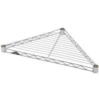 Metro H18TRC Super Erecta 18 inch Chrome Triangle Shelf