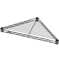 Metro H18TRB Super Erecta 18 inch Black Triangle Shelf