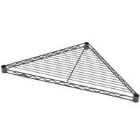 Metro H24TRB Super Erecta 24 inch Black Triangle Shelf