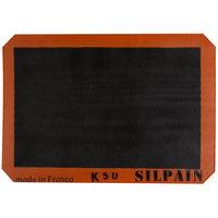 Sasa Demarle SILPAIN® SN 415 290 02 11 5/8 inch x 16 1/2 inch Half Size Silicone Non-Stick Baking Mat