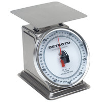 Cardinal Detecto PT-500SRK 500 g. Stainless Steel Mechanical Portion Control Scale with Rotating Dial