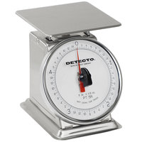 Cardinal Detecto PT-500SRK Top Rotating Dial Scale - Stainless Steel, 500 Gram