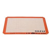 Sasa Demarle SILPAT® AE420295-02 11 5/8 inch x 16 1/2 inch Half Size Silicone Non-Stick Baking Mat