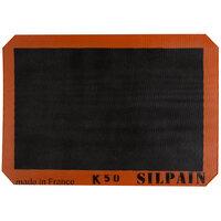 Sasa Demarle SN 620 420 01 SILPAIN® 16 1/2 inch x 24 1/2 inch Full Size Silicone Non-Stick Baking Mat