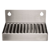 Micro Matic DP-6X4 6 inch x 4 inch x 3 inch Stainless Steel Refrigerator Drip Tray