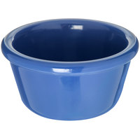 Carlisle S28514 4 oz. Ocean Blue Smooth Melamine Ramekin - 48/Case