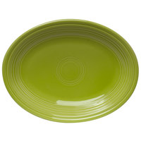 Homer Laughlin 457332 Fiesta Lemongrass 11 5/8 inch Platter - 12/Case