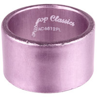 Tabletop Classics by Walco AC-6512PL Purple 1 3/4 inch Round Polypropylene Napkin Ring