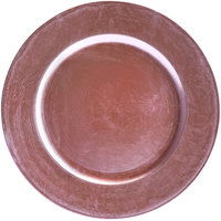 Tabletop Classics by Walco TRPL-6651 13 inch Purple Round Plastic Charger Plate