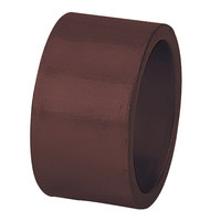 Tabletop Classics AC-6512BR Brown 1 3/4 inch Round Polypropylene Napkin Ring