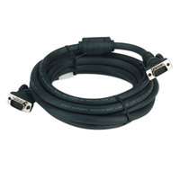 Belkin F3H98210 Pro Series 10' Black High-Integrity VGA Monitor Cable with 2 HD15 Male Connectors