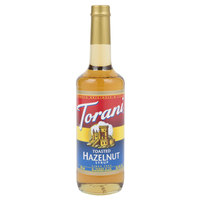 Torani 750 mL Toasted Hazelnut Flavoring Syrup