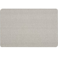 Quartet 7684G Oval Office 36 inch x 48 inch Frameless Gray Fabric Bulletin Board