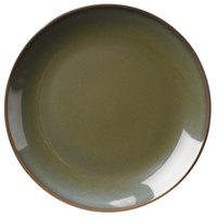 Homer Laughlin 3049030 Pesto® 6 1/2 inch Round Empire China Plate - 36/Case