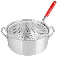Backyard Pro 10 Qt. Aluminum Fry Pot / Steamer Pot with Basket