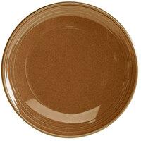 Homer Laughlin 13109030 Pesto® 10 1/2 inch Round Flipside China Plate - 12/Case