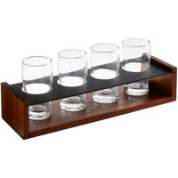 Acopa Flight Carrier with Pub Tasting Glasses
