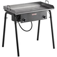 Backyard Pro GKIT-FL 32 inch Double Burner Outdoor Range with 32 inch Griddle Plate - 150,000 BTU