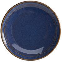 Homer Laughlin 13089026 Indigo™ 9 inch Round Flipside China Plate - 24/Case