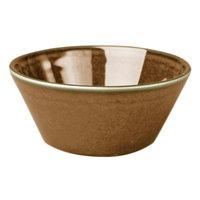 Homer Laughlin 25641439 Sepia™ 13 oz. Flipside China Bravo Bowl - 36/Case