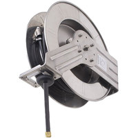 Fisher 73592 Industrial Reel Wall Mounted Exposed Hose Reel with 35' Hose