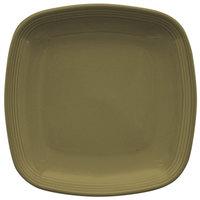 Homer Laughlin 13309030 Pesto® 8 3/4 inch Square Flipside China Plate - 12/Case